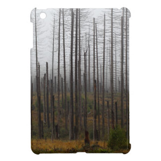 Death spruce trees cover for the iPad mini