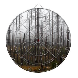 Death spruce trees dartboard