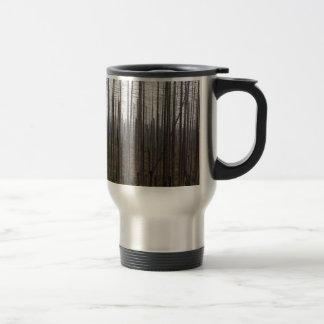 Death spruce trees travel mug