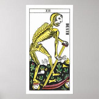 Death Tarot Card Poster