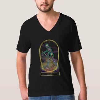 Death Tarot Card V-Neck T-Shirt