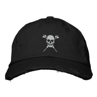 Death Throw Distressed Hat