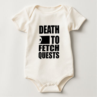 Death to Fetch Quests Baby Bodysuit