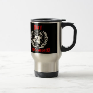 DEATH TO THE NEW WORLD ORDER COFFEE MUGS