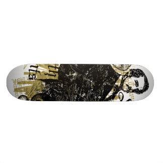 death to tyrants 18.1 cm old school skateboard deck