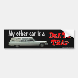 Death Trap Bumper Sticker