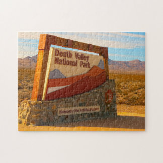 Death Valley California and Nevada. Jigsaw Puzzle
