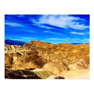 Death Valley Desert Postcard
