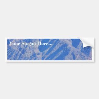 Death Valley Deserts Mountains Bumper Sticker