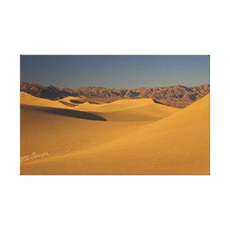 Death Valley, Dunes Canvas Print
