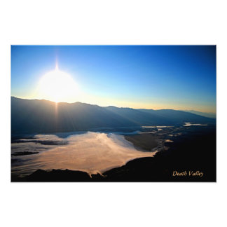 Death Valley from Dantes Views Photo Print
