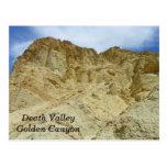 Death Valley/Golden Canyon Postcard! Postcard