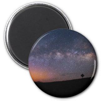 Death Valley milky way Sunset 6 Cm Round Magnet