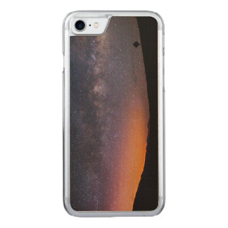 Death Valley milky way Sunset Carved iPhone 8/7 Case