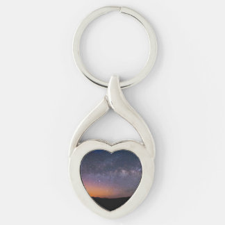 Death Valley milky way Sunset Key Ring