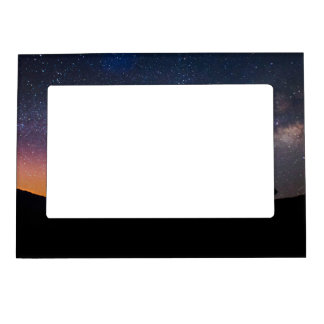 Death Valley milky way Sunset Magnetic Picture Frame