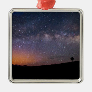 Death Valley milky way Sunset Metal Ornament