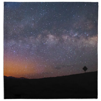 Death Valley milky way Sunset Napkin