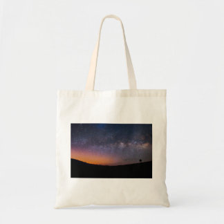 Death Valley milky way Sunset Tote Bag