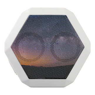 Death Valley milky way Sunset White Bluetooth Speaker