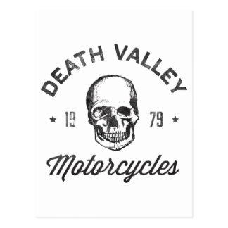 Death Valley Motorcycles Post Card
