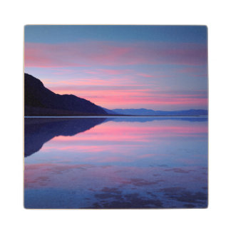Death Valley National Park. Badwater at dawn Maple Wood Coaster