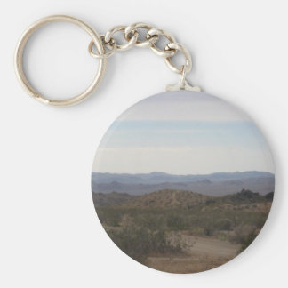 Death Valley National Park Basic Round Button Key Ring
