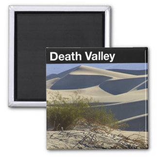 Death Valley National Park Square Magnet