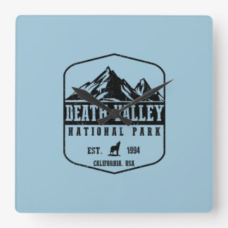 Death Valley National Park Square Wall Clock