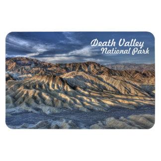 Death Valley National Park Zabriskie Point View Rectangular Photo Magnet