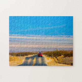 Death Valley Nevada. Jigsaw Puzzle