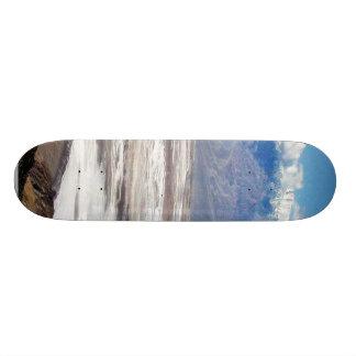 Death Valley Salt Desert Mountains Dante S View Sn Skateboard Deck