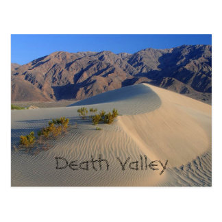 Death Valley Sand Dunes Postcard