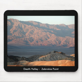 Death Valley -  Zabriskie Point Mouse Pad
