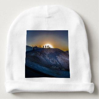 Death Valley zabriskie point Sunset Baby Beanie