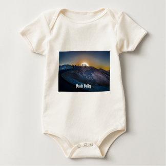 Death Valley zabriskie point Sunset Baby Bodysuit