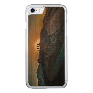 Death Valley zabriskie point Sunset Carved iPhone 8/7 Case