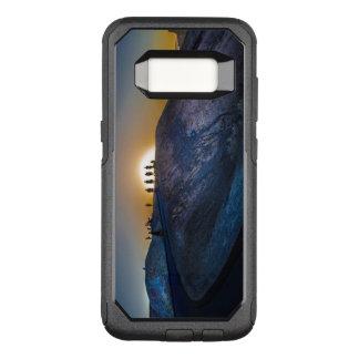 Death Valley zabriskie point Sunset OtterBox Commuter Samsung Galaxy S8 Case