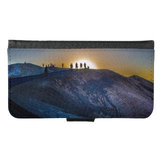 Death Valley zabriskie point Sunset Samsung Galaxy S6 Wallet Case