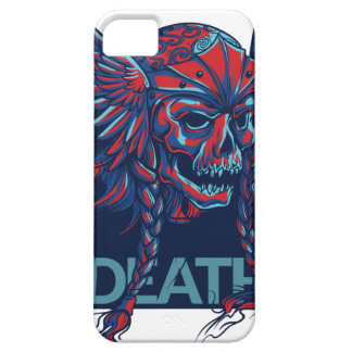 death with flying skull design case for the iPhone 5