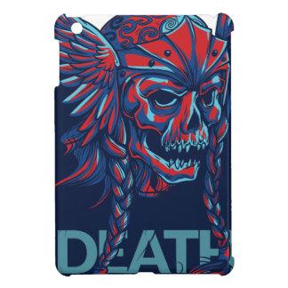 death with flying skull design iPad mini case