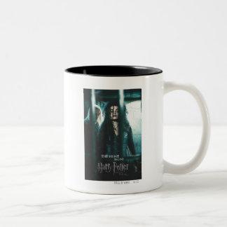 Deathly Hallows - Bellatrix & Lucius Two-Tone Mug