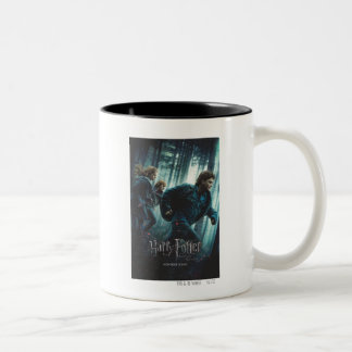 Deathly Hallows - Group Running 2 Two-Tone Mug