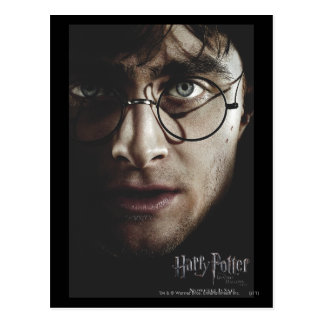 Deathly Hallows - Harry Potter Postcard