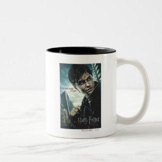 Deathly Hallows - Harry Two-Tone Mug