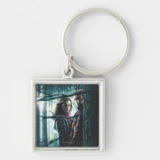 Deathly Hallows - Hermione and Ron Key Ring