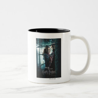 Deathly Hallows - Hermione and Ron Two-Tone Mug