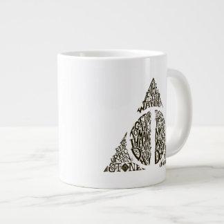 DEATHLY HALLOWS™ Typography Graphic Jumbo Mug