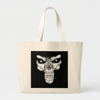 Death's Glare Jumbo Tote Bag