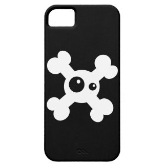 Death's head barely there iPhone 5 case